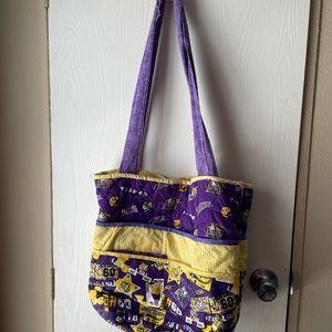 Custom LSU bag